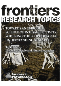 Towards_an_Embodied_Science_of_Intersubjectivity_-_Widening_the_Scope_of_Social_Understanding_Research_Cover